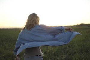 Woman Field